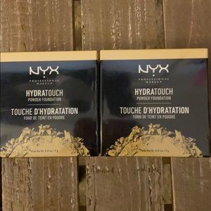 NYX hydratouch powder foundation